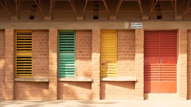 Kere Foundation Perforated Ceiling @ Jaime Herraiz Kere Architecture