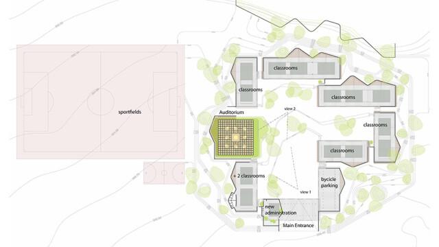 Kere Foundation Secondary School Plan@ Kere Architecture