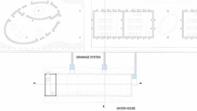 Kere Foundation Waterhouse Plan@ Kere Architecture