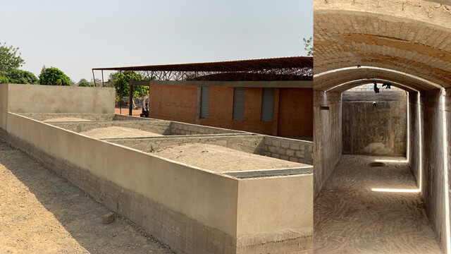 Kere Foundation Gando Waterhouse Collage@ Francis Kere