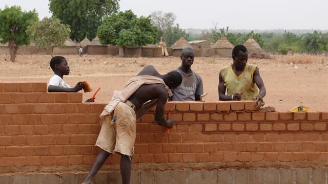 Kere Foundation Adobe Wall@ Francis Kere