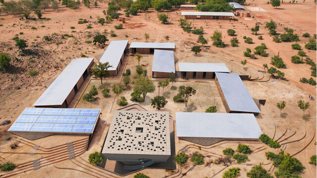 Kere Foundation Secondary School Perspective@ Kere Architecture